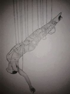 Hanging man ropes