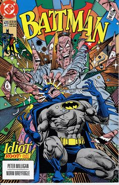 Batman 473  January 1992 Issue  DC Comics  Grade NM by ViewObscura