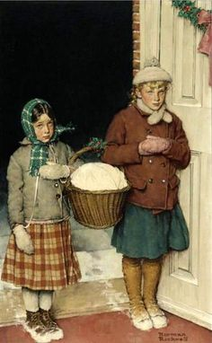 Christmas-in-the-heart. Norman Rockwell