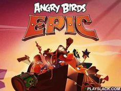 Angry Birds Epic  Android Game - playslack.com , Step-by-step combats between a legendary militium of birds and chromatic pigs.
