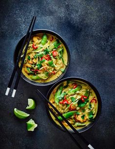 Check out our light prawn laksa recipe. Ready in just 30 minutes, this quick and easy laksa recipe is packed with punchy flavour and is super simple to make. What's more, it's low in calories and low in salt