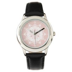 Shop Zazzle's selection of customizable Pink watches & choose your favorite design from our thousands of spectacular options. Pink Watch, Yoga Gifts, Mandala, Watches, Accessories, Wristwatches, Clocks, Mandalas, Jewelry Accessories