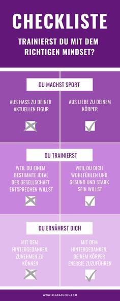 Sport ist Selbstliebe - Klara Fuchs