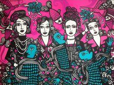 Chanel, Maria Bonita, Frida e Piaf em Angicos - Rogério Fernandes