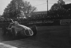 Juan Manuel Fangio - Maserati 4CLT/48 - Scuderia Achille Varzi - XI Grand Prix Automobile de Pau 1950 - Non championship Formula 1 race