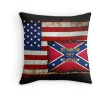 Heritage, not Hatred US and Civil War History Art Throw Pillow