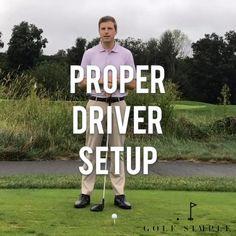 Golf Driver Tips, Golf Drivers, Best Golf Clubs, Best Golf Courses, Golf Clubs For Beginners, Golf Stance, Golf Instruction, Golf Stuff, Golf Player