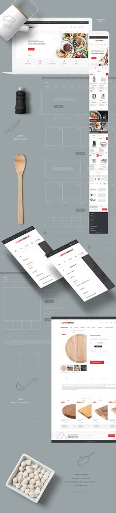 - Ciekawie przedstawiona architektura informacji w tle