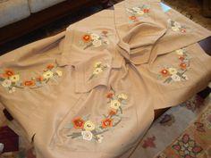 basit nakış tekniği - handmade - embroidery - nakış - el işi