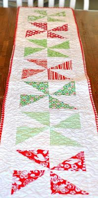 PLEASANT HOME: Quick Directions for the Pinwheel Runner