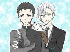Guren and Shinya / Owari no Seraph / Yuri on Ice / #yoi