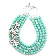 Sprawling Oasis necklace by Elva Fields