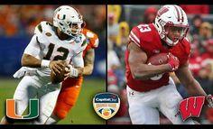Good Luck Badgers !! @OrangeBowl #OrangeBowl #wisconsinbadgers  #MiamiHurricanes #OnWisconsin #Gobadgers #wisconsin #BigTen #collegefootball #Football #BowlGames