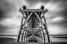 Steetly Pier Black And White Photography, Travel, Black White Photography, Viajes, Traveling, Bw Photography, Tourism, Outdoor Travel