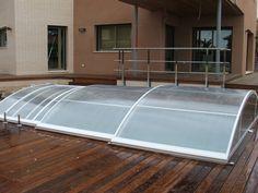 Con su inteligente diseño, esta cubierta para piscina ha revolucionado el mercado.