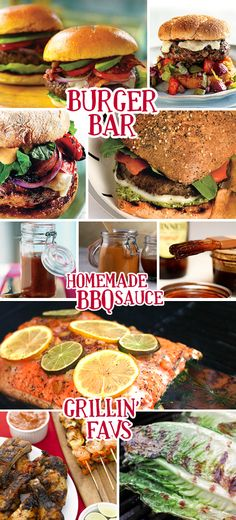 BBQ Party Ideas-- Links to all of these--Patriotic Parties Grilled Food