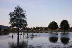 Spielplatz unter Wasser