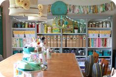 Creative Office And Workspace Stylish Craft Room Interior Design Idea With Cheerful Decoration Get Inspired From 19 Cool Craft Studio Design Ideas Craft Studio Pictures Craft Studio Organization Craft Room De Office Organization Design Ideas