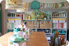 Raising up Rubies: my craft room ... Christmas style ♥
