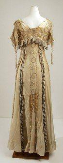вечернее платье 1905-1910