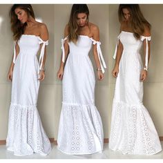 White Sundress Long, White Dress, Boho Fashion, Fashion Dresses, Picnic Dress, Honeymoon Outfits, White Outfits, Festival Outfits, Elegant Dresses