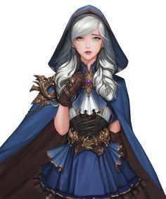 ArtStation - Resent, Daejun Park (Gae Go) 3d Fantasy, Fantasy Women, Anime Fantasy, Fantasy Girl, Fantasy Artwork, Fantasy Character Design, Character Design Inspiration, Character Art, Character Ideas