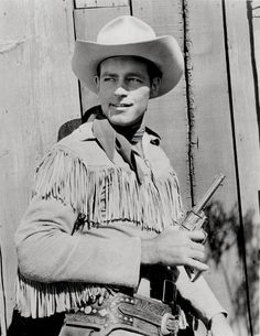 Guy Madison, star of The Adventures of Wild Bill Hickock on American television from 1951-1958.