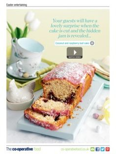 The best coconut cake ever!!! I made it many times since then! Trust me... You must try it! @ The Co-operative Food Magazine March/April 2014