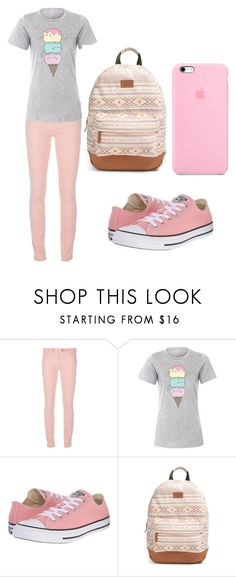 """Pusheen cat style"" by maramira2005 ❤ liked on Polyvore featuring Balenciaga, Pusheen, Converse and Rip Curl"