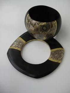 Nathalie Rolland-Huckel laque Japanese Art, Napkin Rings, Ceramics, Home Decor, Ornament, Jewelery, Japan Art, Hall Pottery, Pottery
