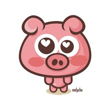 no soy adorable? Kawaii Drawings, Cartoon Drawings, Pig Images, Fabric Covered Boxes, Pig Drawing, Pig Illustration, Pig Art, Flying Pig, This Little Piggy