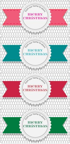 Mini Loaf Pan Printables! Perfect for gift giving this holiday season! -- Tatertots and Jello #DIY #Christmas