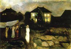 Edvard Munch - Stormy Night