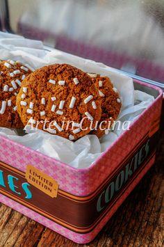 Biscotti cannella e zenzero con miele, facili e veloci, ottimi a colazione o merenda.
