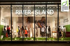 River Island windows 2014 Spring, London