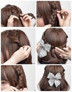 как сделать корейский причёски - Поиск в Google