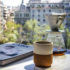 Лето, утро, кофе