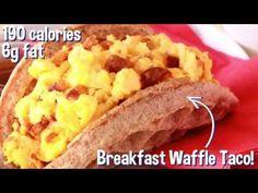 Food Hack: Breakfast Waffle Taco