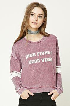 High Fives Graphic Sweatshirt