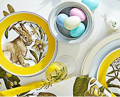 williams sonoma easter plates
