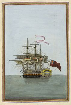 'Ship's captain, represented by the Mars, a naval battleship prominent in the Napoleonic wars.'