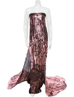 Tuleh Strapless Silk Gown w/ Tags