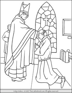 sacrament coloring pages sacrament of holy orders coloring page bible coloring pages pdf