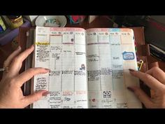 Series: My two A5 Planners and which one I'll use in 2018 - YouTube