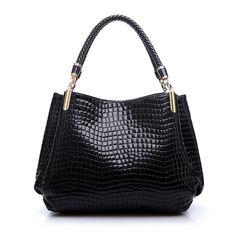 864dad6ae72a 2018-Designer-Handbag-Women-Leather-Handbags-Alligator-Shoulder-