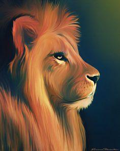 9 Best Lion Project Art Images Lion Painting Lion Lion Art