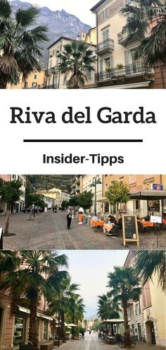 Riva del Garda Italy - insider tips for a connoisseur week .- Riva del Garda Italien – Insidertipps für ein Genießer-Wochenende Pastel-colored houses with flower-covered balconies stretch along the beautiful waterfront. That is Lake Garda. Rome Italy, Venice Italy, Italy Vacation, Italy Travel, Hotel Am Strand, Riva Del Garda, Earth's Best, Garda Italy, Balcony Design