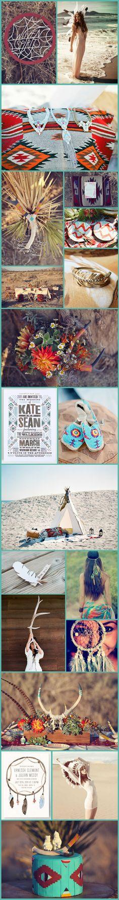 Wedding Inspiration: Native American