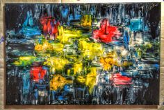 Abstract Oil Painting #abstract #mypainting #oil #abstractacrylic