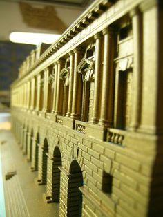 Verona, Palazzo della Gran Guardia 1:200 scale model